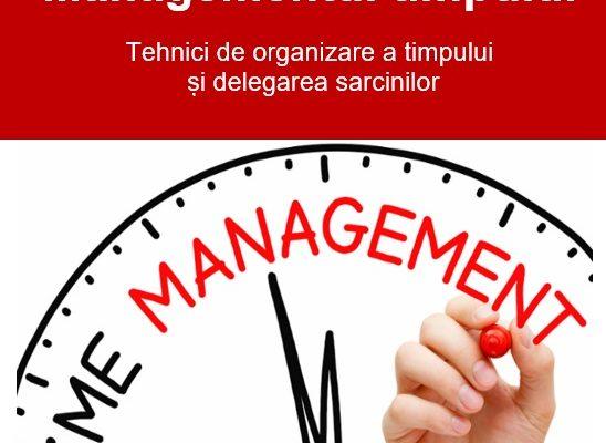 Curs online Managementul Timpului