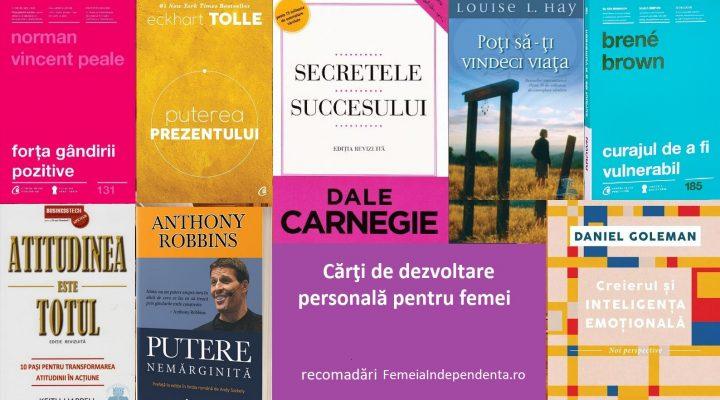 10 Carti de dezvoltare personala pentru femei