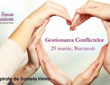 Gestionarea conflictelor in familie sau la locul de munca – Finalizat