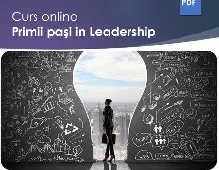Primii pasi in Leadership