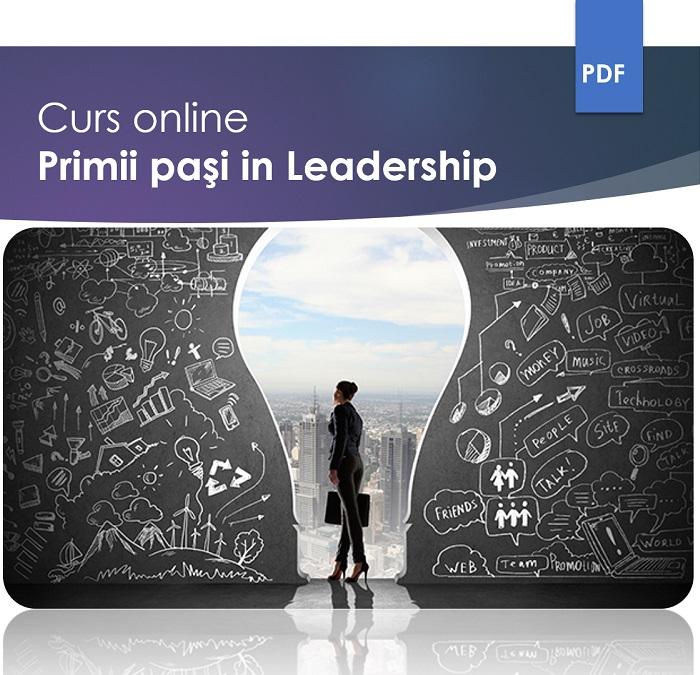 Curs online Primii pasi in leadership