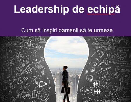 Curs Primii pași în Leadership