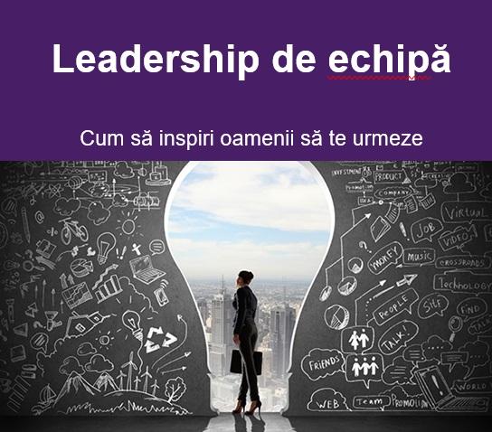 Curs online leadership de echipa