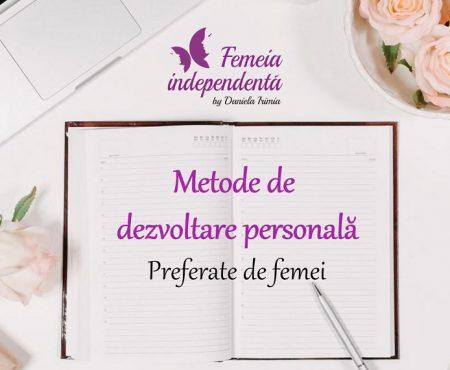 Metode de dezvoltare personala preferate de femei