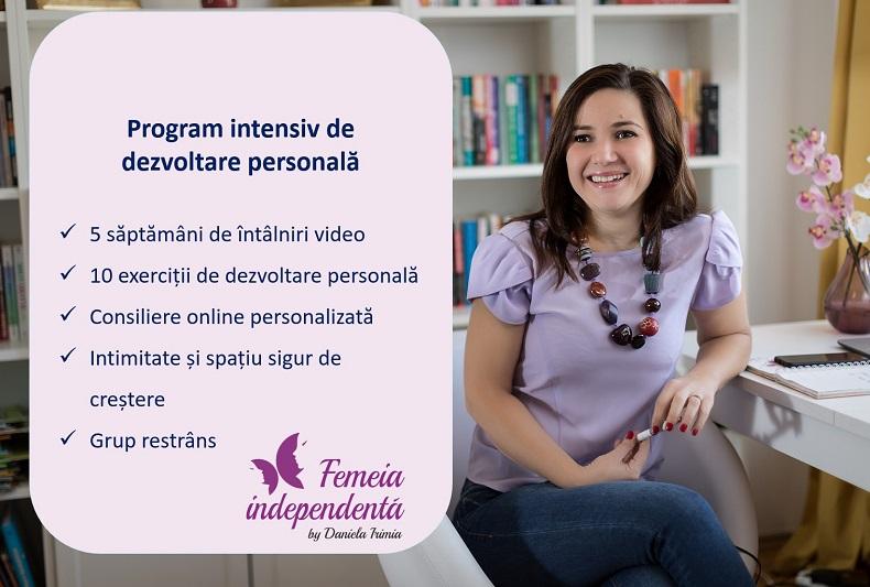 program online dezvoltare personala-5 saptamani