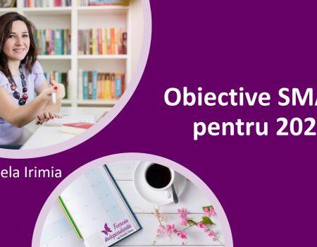Obiective SMART pentru 2021
