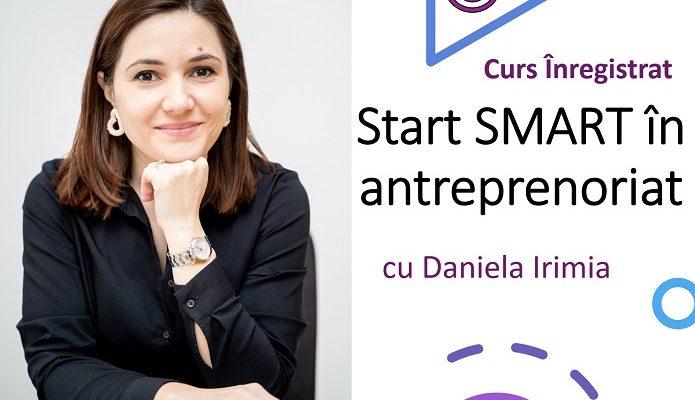 Curs de antreprenoriat – Start Smart (fara intalniri live)