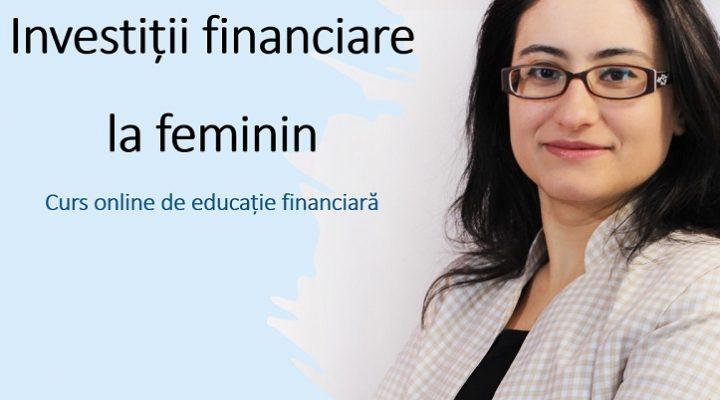 Curs Investiții financiare la feminin