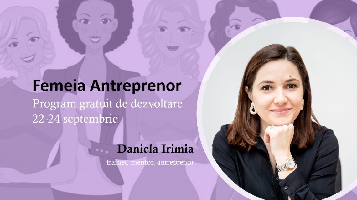 Femeia Antreprenor – Program gratuit de dezvoltare
